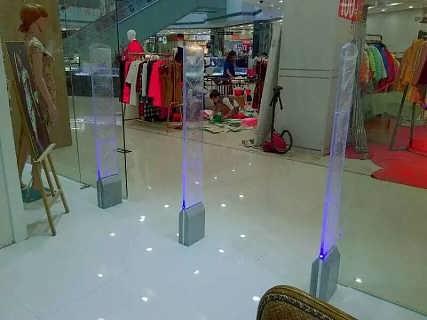 商场防盗报警系统   水晶射频防盗门-东莞市黑豹电子科技有限公司.