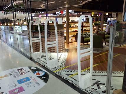 湛江超市防盗报警装置  声磁防盗报警门禁-东莞市黑豹电子科技有限公司.