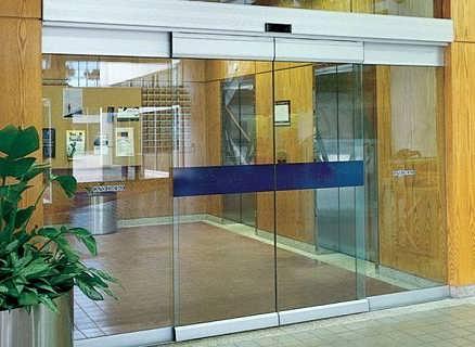 天津安装感应门门禁 感应玻璃门安装价格