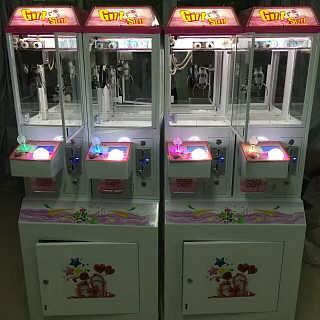 豪华版儿童夹公仔机精品机游艺设备电玩厂家