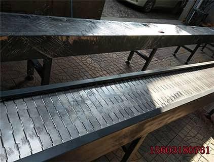 镇江米粉蒸煮流水线输送带生产链板网带实体厂家