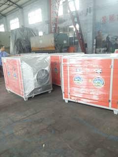 泊头诺和供应一万风量的uv光氧除臭设备