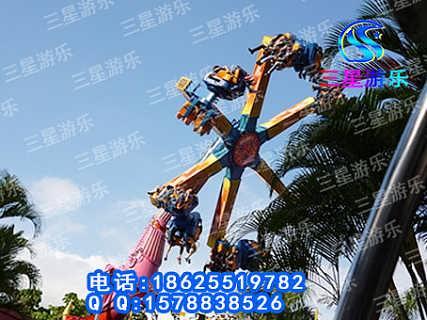 大型游乐设备极速风火轮在三星游乐园中的收益情况