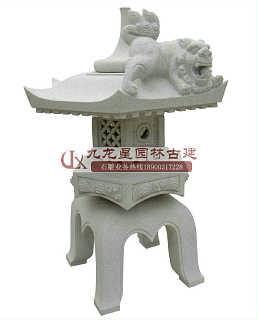 热销石雕厂家供应石灯笼 园林石灯笼