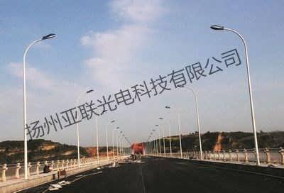 青铜峡户外6米LED防水路灯施工安装-扬州亚联光电科技有限公司