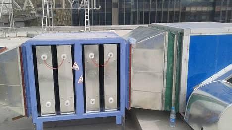 厨房排油烟系统设计安装 商城宾馆新风管道加工