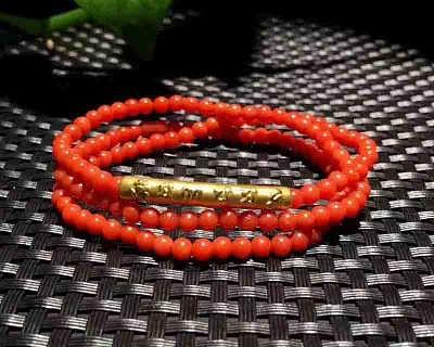 亚西亚银饰批发-天然珊瑚足金手链,925银饰批发  ,泰银批发