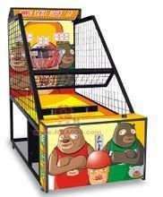 河南郑州良秀新款电玩游戏机电玩城投币儿童篮球机成人投篮机儿童室内游乐设备