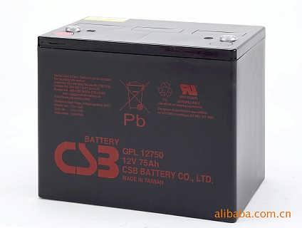 CSB蓄电池GP12750台湾希世比