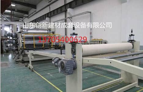 新型防火板生产设备流水线特点