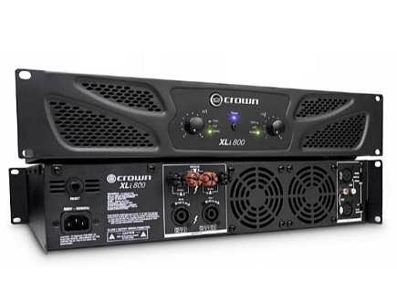 济南皇冠功放Xli1500 CrownT3纯后级功率放大器 虎达-济南虎达信息科技有限公司