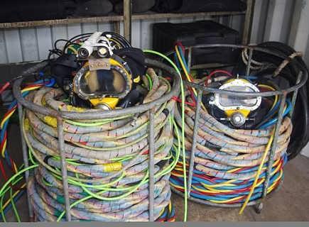 重潜供气管 进口潜水脐带 英国柯浮缆DSUS007常规潜水脐带管