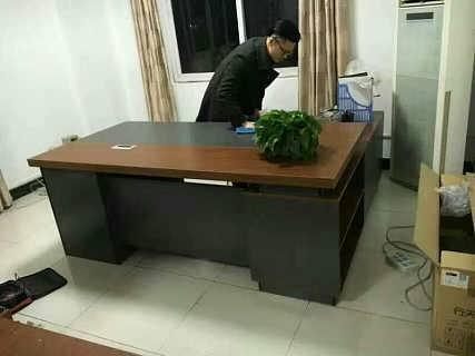 合肥老板桌定做 板式经理桌 实木老板桌 主管桌直销