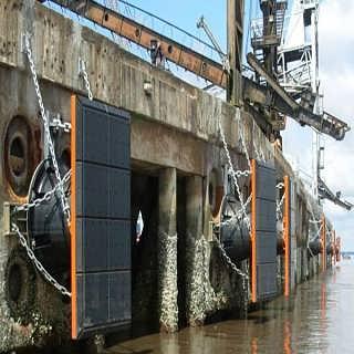 码头防撞板聚乙烯护舷贴面板