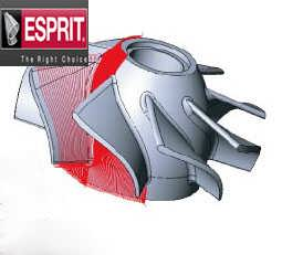 ESPRIT五轴回转铣削加工软件-上海迪培