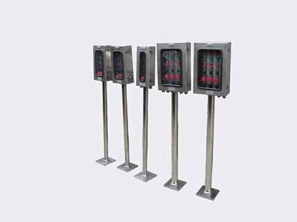 全国供电局专用BZC系列防爆操作柱(按钮盒大量批发】)