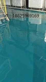 滑县厂房地下停车场环氧平涂地面漆施工
