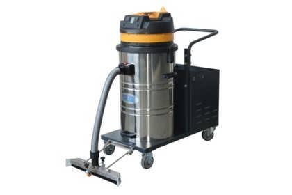 80L倾倒式工业吸尘器|依晨电瓶式推吸工业吸尘器YZ-8015TP