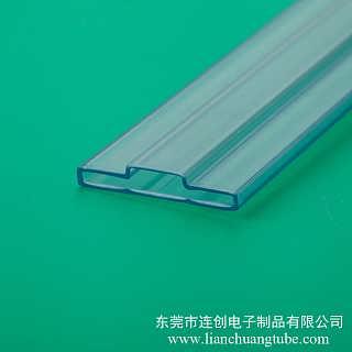 多种规格包装LED灯用塑料方管led透明吸塑管厂家直销