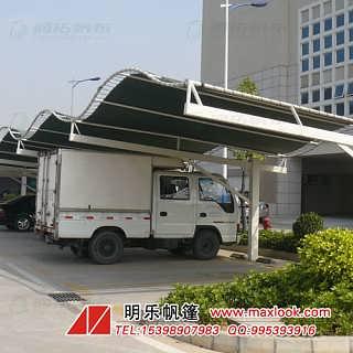 深圳供应汽车停车篷 帆布停车篷 防水停车篷定做厂家