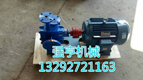 贵州强亨机械RCB保温齿轮泵为石蜡沥青等介质的输送设计-河北强亨机械设备有限公司