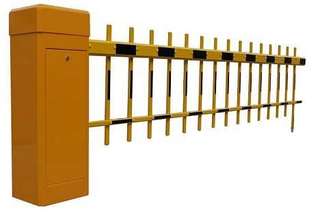 双层栅栏式道闸机 电动道闸门 小区格栅自动升降杆 门卫遥控道闸