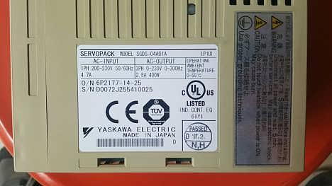 安川伺服驱动器维修SGDM-A5AD-上海睿游电子科技有限公司