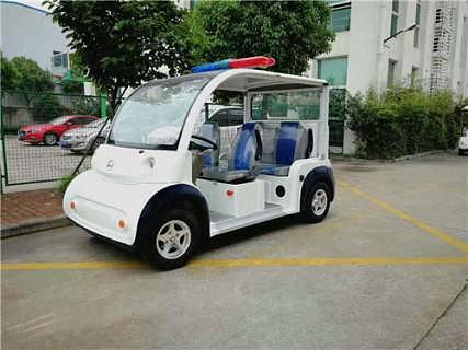 吉林5座四轮电动巡逻车工厂发售-苏州朗格新能源科技有限公司――电动观光车