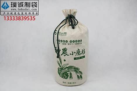棉布大米布袋包装定制样品免费质优价廉-郑州璞诚商贸有限公司