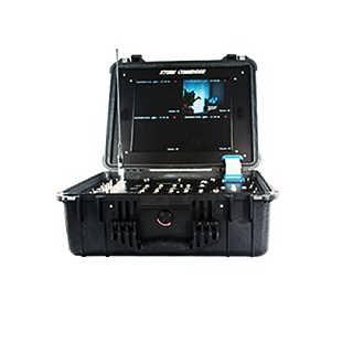 塞夫格特SG-CH4四路一体化cofdm无线便携式监视器-深圳市塞夫格特电子有限公司内贸部 雷群
