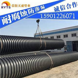 白城钢带增强波纹管大量供应