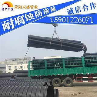 大连钢带增强聚乙烯PE螺旋波纹管厂家热卖
