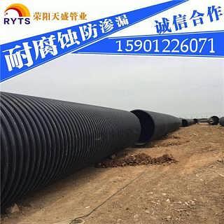 鹤岗天津PE钢带波纹管销售厂家