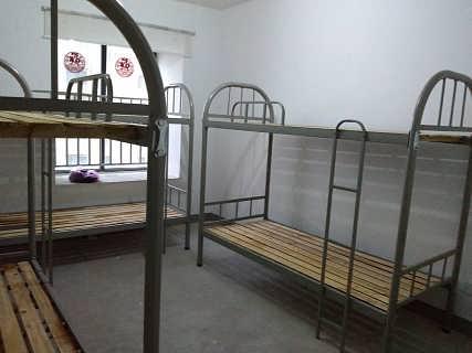 安徽员工宿舍上下铺床合肥13365606995厂家供应高低铁床