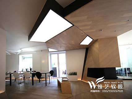 最新吊顶材料|透光灯膜 吊顶灯膜