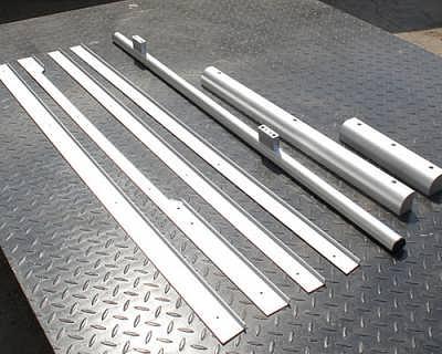 铝合金边条拉手加工-大连金属切割