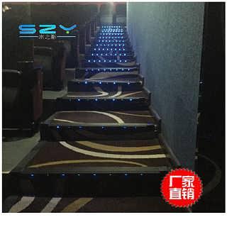 家庭影院时尚台阶灯照明佛山厂家直销铝合金材质台阶灯
