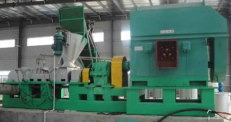 供应草木纤维原料双螺杆搓磨分丝机