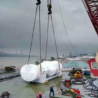 海上大件设备吊装设备,海上起重打价格