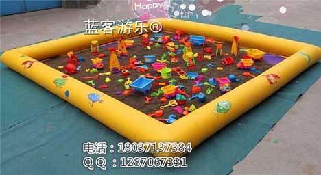 河南郑州蓝客有限公司决明子沙滩池-郑州蓝客游乐设备有限责任公司