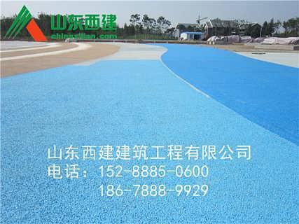 商丘透水混凝土C30彩色/梁园区透水路面价格