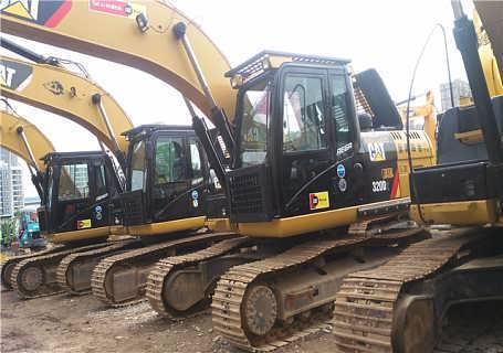 卡特320D2转让的二手挖掘机质量保证手续齐全