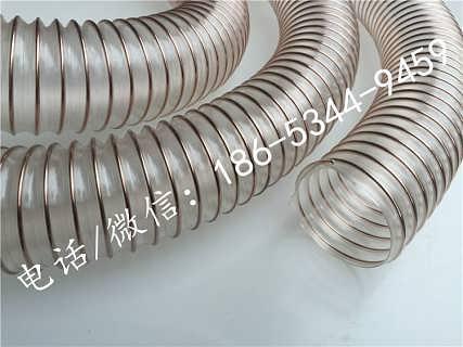 钢丝伸缩管_PU弹性钢丝伸缩管