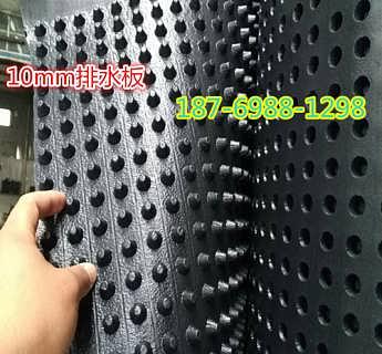 内蒙2公分凹凸型排水板屋顶花园阻根排水板-泰安市旺高建材有限公司_塑料排水板