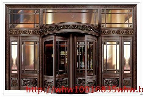 求购上海旋转门回收-上海旧铜门回收价格