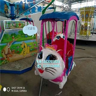 儿童室内乐园设施海洋漫步猫小型游乐设施项目