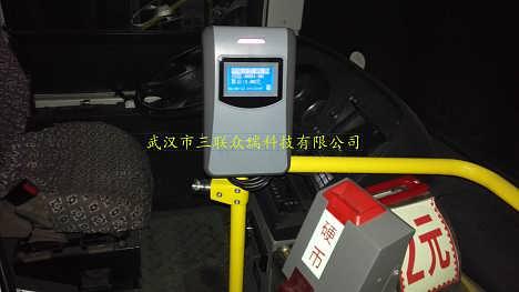 上门安装乌兰察布新款二维码公交刷卡机乌兰察布车载POS机支持4G通讯