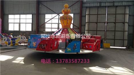 新款陀螺类游乐设备飞天转盘厂家现货促销中-郑州永新游乐设备制造有限公司第一分部