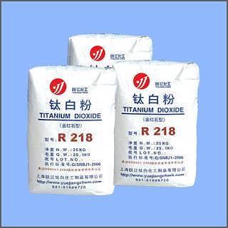 钛白粉R218(通用型)跃江化工厂家直销-上海跃江钛白化工制品有限公司(二氧化钛)