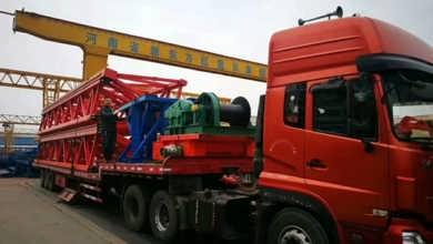 韩起100吨龙门吊发往云南召通-河南新东方起重机集团有限公司